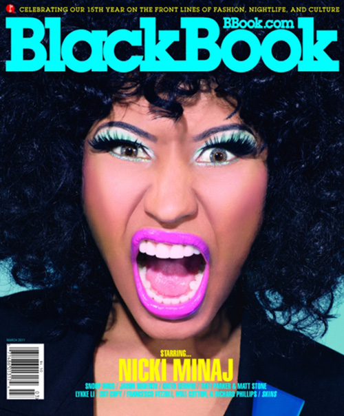 nicki minaj 2011 pictures. nicki minaj 2011 images. Nicki Minaj for Black Book,