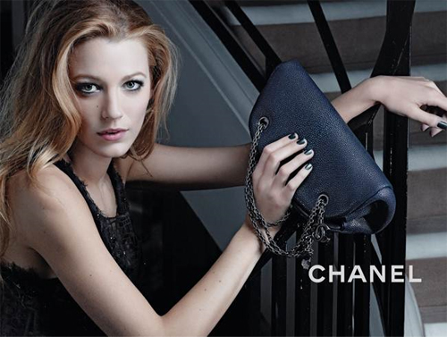 blake lively chanel ad. The chic Chanel ads were