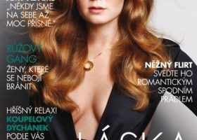 Amy Adams for Marie Claire Czech, February 2011 Cover