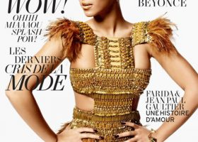 Beyonce for L'Officiel Paris, March 2011 Cover