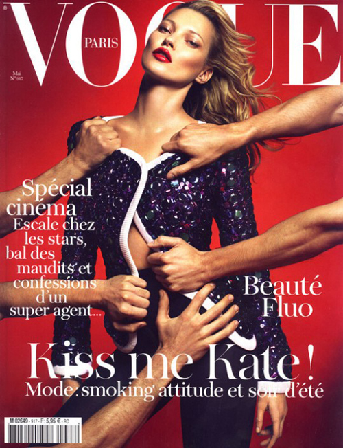 Kate Moss for Vogue Paris May 2011 Cover