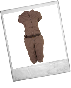 Belted Jumpsuit By Wal G**