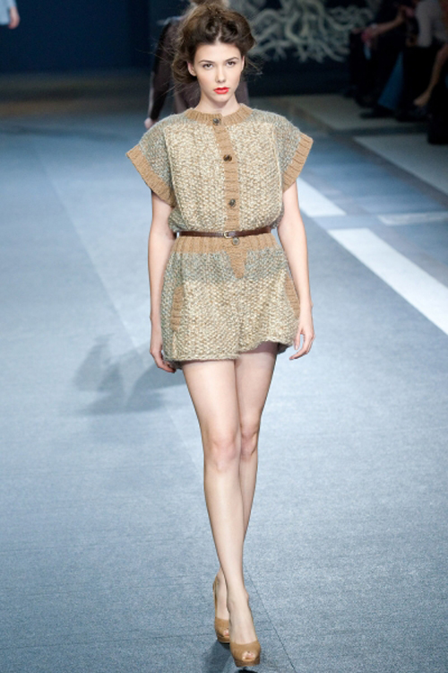 Alena Akhmadullina Collection for Moscow Fashion Week Fall/Winter 2011/12