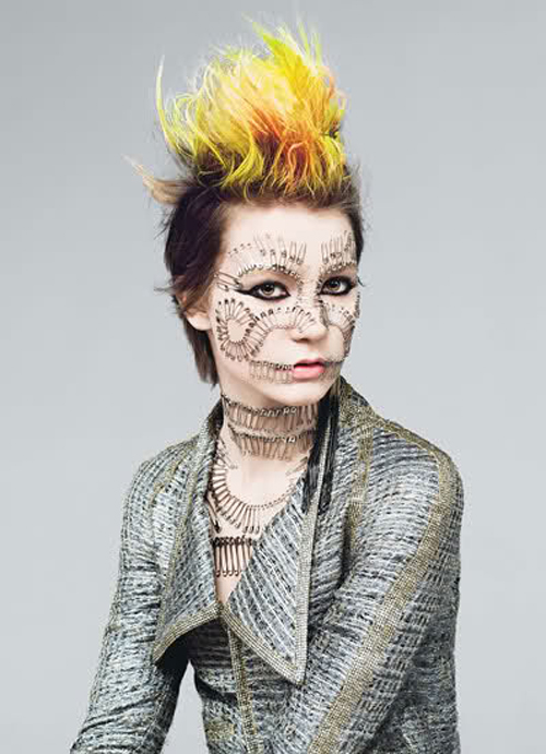 Mia Wasikowska Poses As a 'Poor Little Punk Girl' for W Magazine
