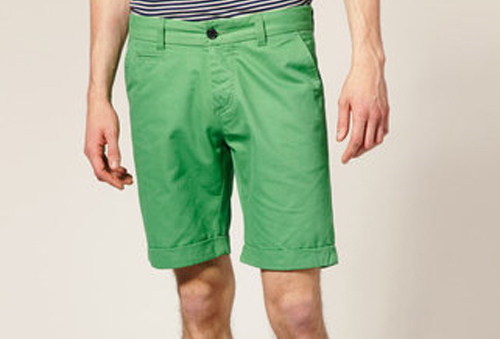 Men Three Paris Chino Shorts