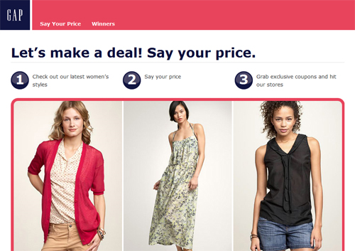 Gapmyprice.com - Gap Offers A