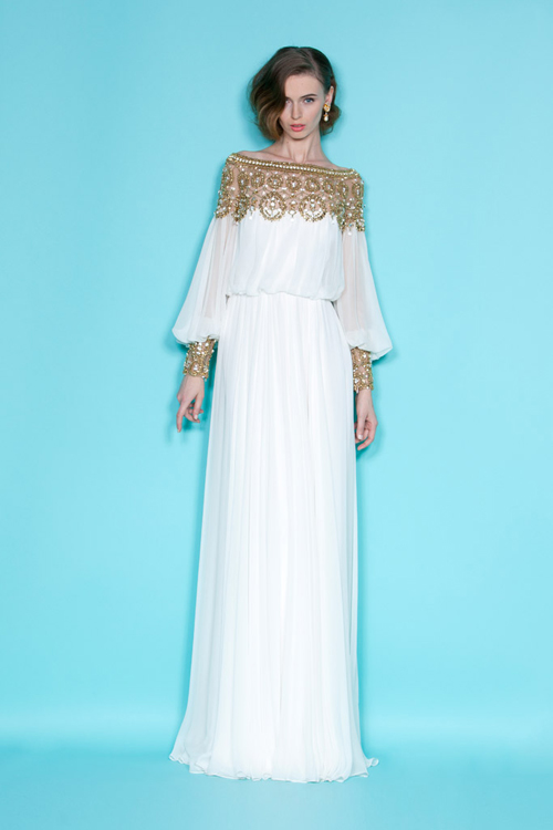 Marchesa Resort 2012: Glamour and Grace