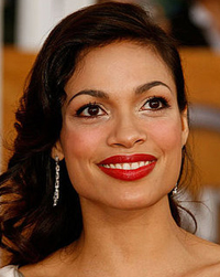 Rosario Dawson's Red Lips