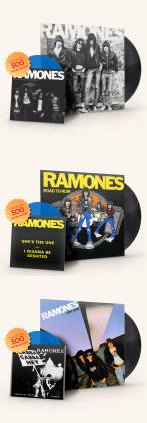The Ramones Re Release First Four Albums On Vinyl