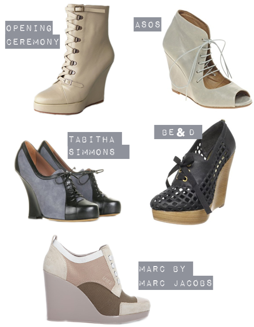 5 Perfect Lace-Up Wedges
