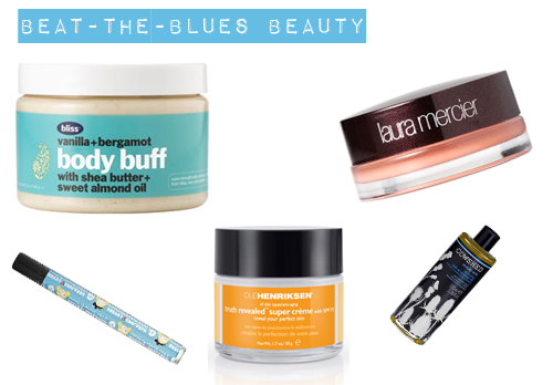 Beat-the-Blues Beauty Products