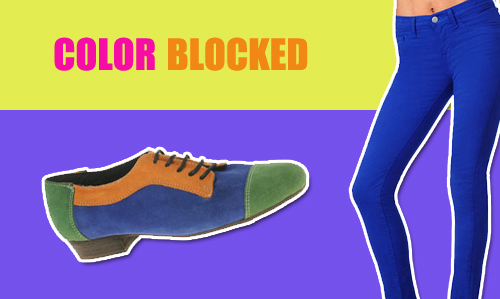 Trend: Cool Color Blocked Brights