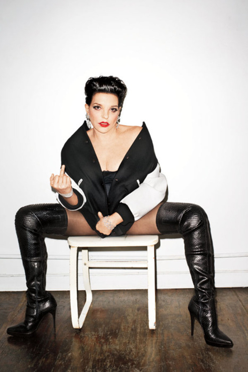 Liza Minelli for Love Magazine by Terry Richardson