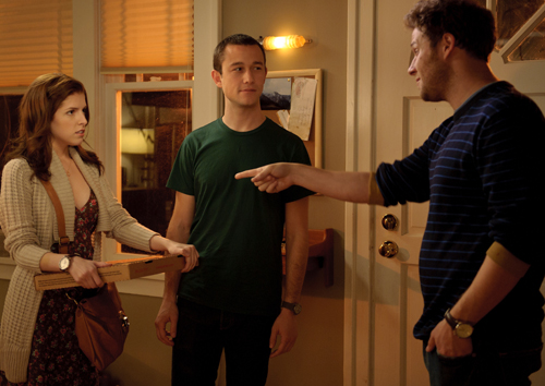 Anna Kendrick, Joseph Gordon-Levitt and Seth Rogen star in 50/50.