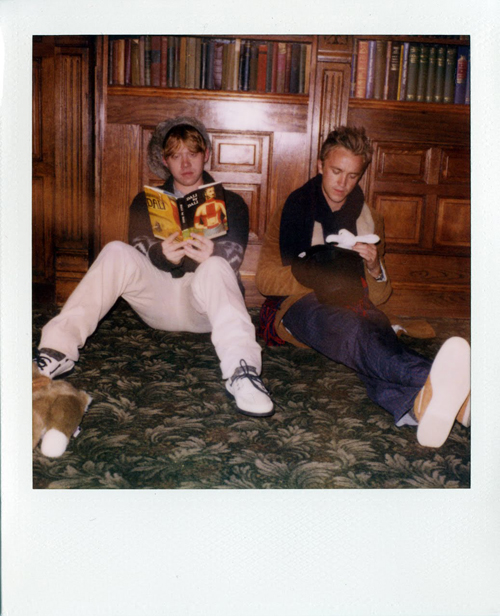 Band of Outsiders Fall/Winter 2011 Collection Featuring Rupert Grint and Tom Felton