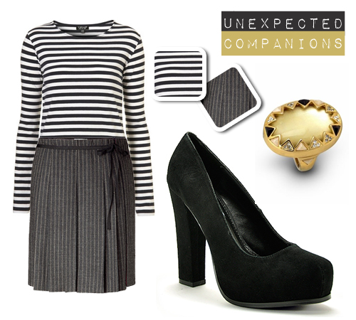 Unexpected Fashion Companions: Stripes on Stripes