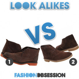 Look Alikes: Frye Wallace Chukka Boot vs. Clarks Men's Bushacre II Suede Boot
