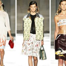 Women & Cars in Milan: Prada Reveals a Collection Inspired by Hot Rods, Pin-ups and the 1950s