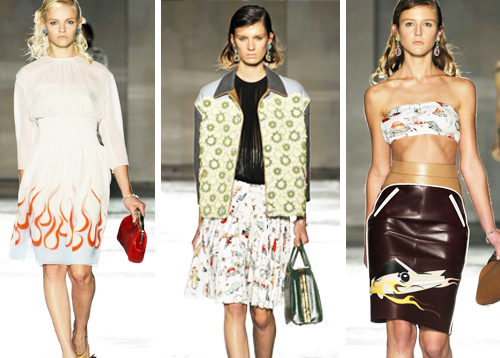 Women \u0026amp; Cars in Milan: Prada Reveals a Collection Inspired by Hot ...