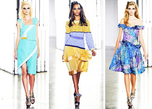 Rodarte Spring 2012 Fashion Presentation at NYFW