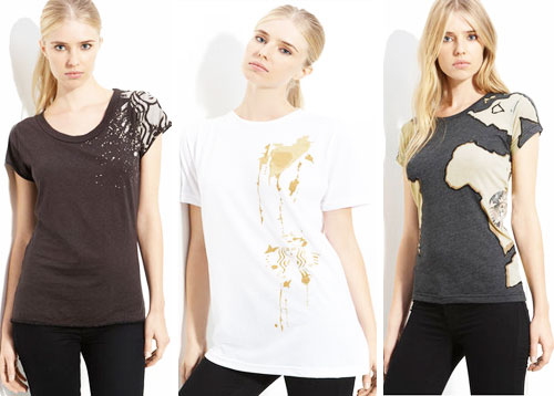 Alexander Wang, Sophie Theallet, and Billy Reid Design Tee Shirts for Starbucks