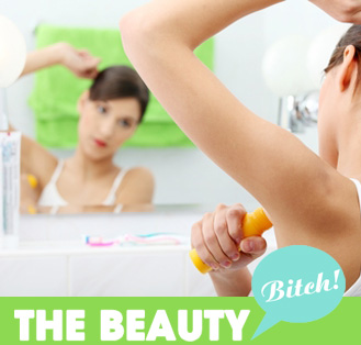 The Beauty Bitch: How Do I Deal With My Super-Sweaty Underarms?