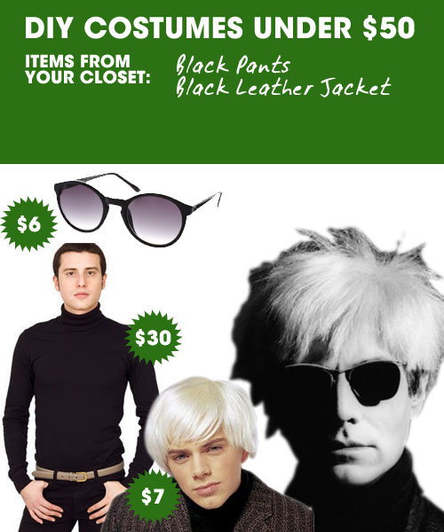 DIY Halloween Costumes Under $50 — Andy Warhol