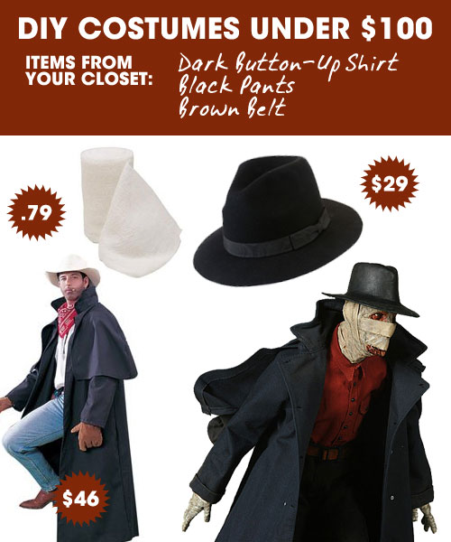 DIY Halloween Costumes Under $100 — Darkman