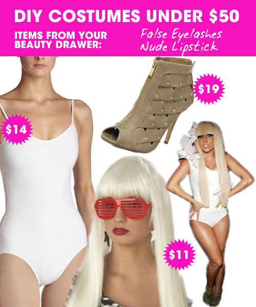 DIY Halloween Costumes Under $50 u2014 Lady Gaga  sc 1 st  Meets Obsession & Costumes u2039 Obsessed Magazine