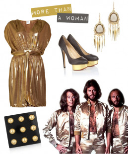 Fashion Rocks: Bee Gees' Style Revisited