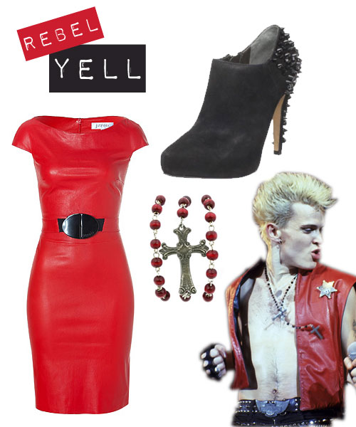 Fashion Rocks: Billy Idol's Style Revisited