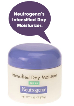 Neutrogena's Intensified Day Moisturizer