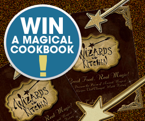 Win a Magical Cookbook: Wizards in the Kitchen Book & Launch Party Giveaway