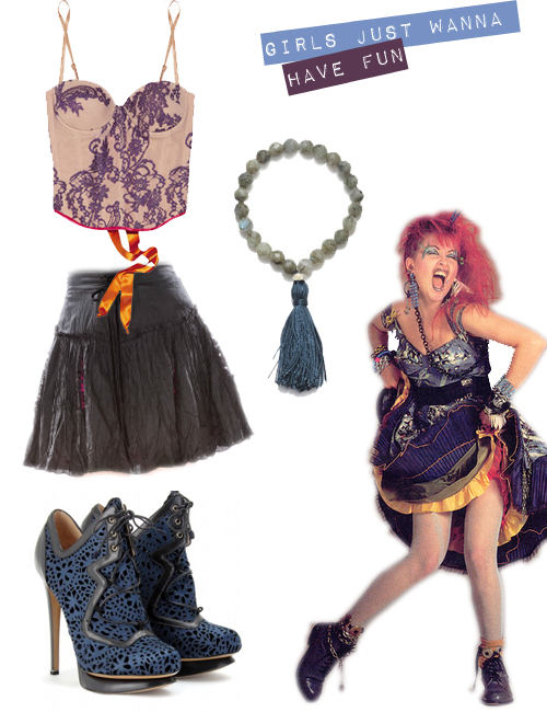 Fashion Rocks: Cyndi Lauper's Style Revisited