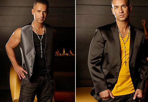 Mike Sorrentino's Flow Formal Wear Tuxedo Collection
