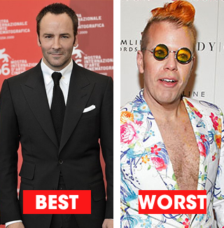 Out Magazine Names Best and Worst Dressed Gays