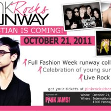 Christian Siriano to Present Spring 2012 Womenswear Collection at Pink Rocks the Runway in Washington D.C.