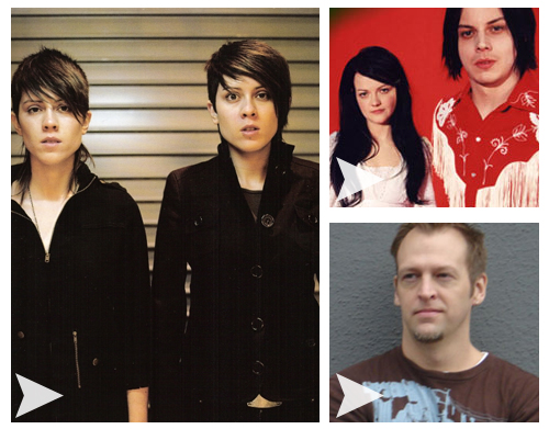 "Triple Serving: ""Walking with a Ghost"" — Tegan and Sara, The White Stripes, DJ Party Ben"
