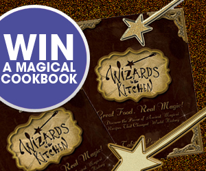 Win a Magical Book: Wizards in the Kitchen Cookbook & Launch Party Giveaway