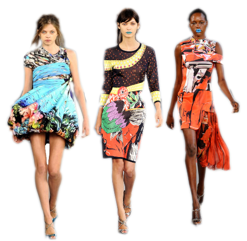 Perfectly Printed: A Look Into Mary Katrantzou's Luxe, Surreal, and Psychedelic Collection