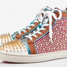 Christian Louboutin Debuts a Men's Sneaker with Rhinestones, Spikes, Animal Prints, and Neon