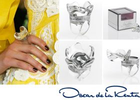 Beauty From the Runway: Oscar de la Renta's Pretty Perfume Ring