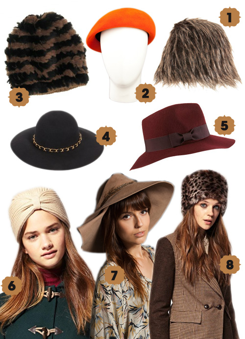 Heavenly (And Stylish) Hats to Help you Brave the Cold This Winter