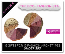 15 Gifts for 15 Fashion Archetypes For Under $50 Gift Guide: The Eco-Fashionista