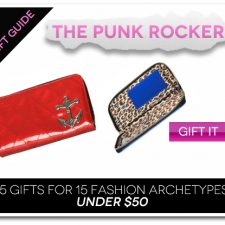 15 Gifts for 15 Fashion Archetypes For Under $50 Gift Guide: The Punk Rock Girl