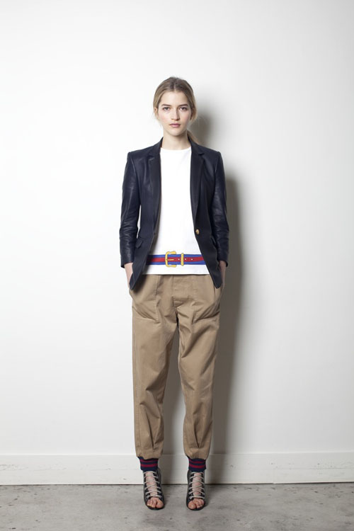Film to Fashion: Boy. by Band of Outsiders Pre-Fall 2012 Collection Inspired by Diane Keaton in 'Manhattan'