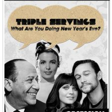 """Triple Servings: """"What Are You Doing New Year's Eve?"""" Served by Joseph Gordon-Levitt and Zooey Deschanel, Nancy Wilson, and Lena Horne"""