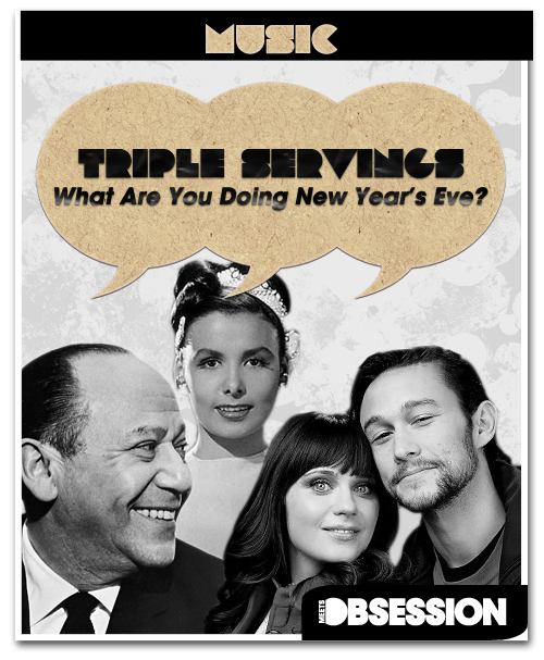 "Triple Servings: ""What Are You Doing New Year's Eve?"" Served by Frank Loesser, Joseph Gordon-Levitt and Zooey Deschanel, and Lena Horne"