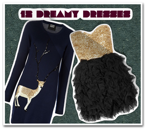 12 Dreamy Dresses to Wear While Ringing in 2012
