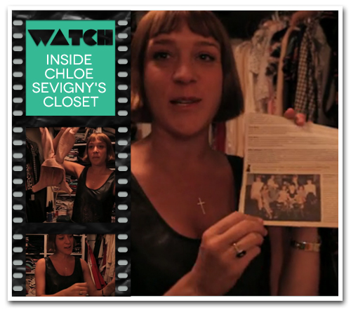 VIDEO: A Look Into Chloe Sevigny's Closet